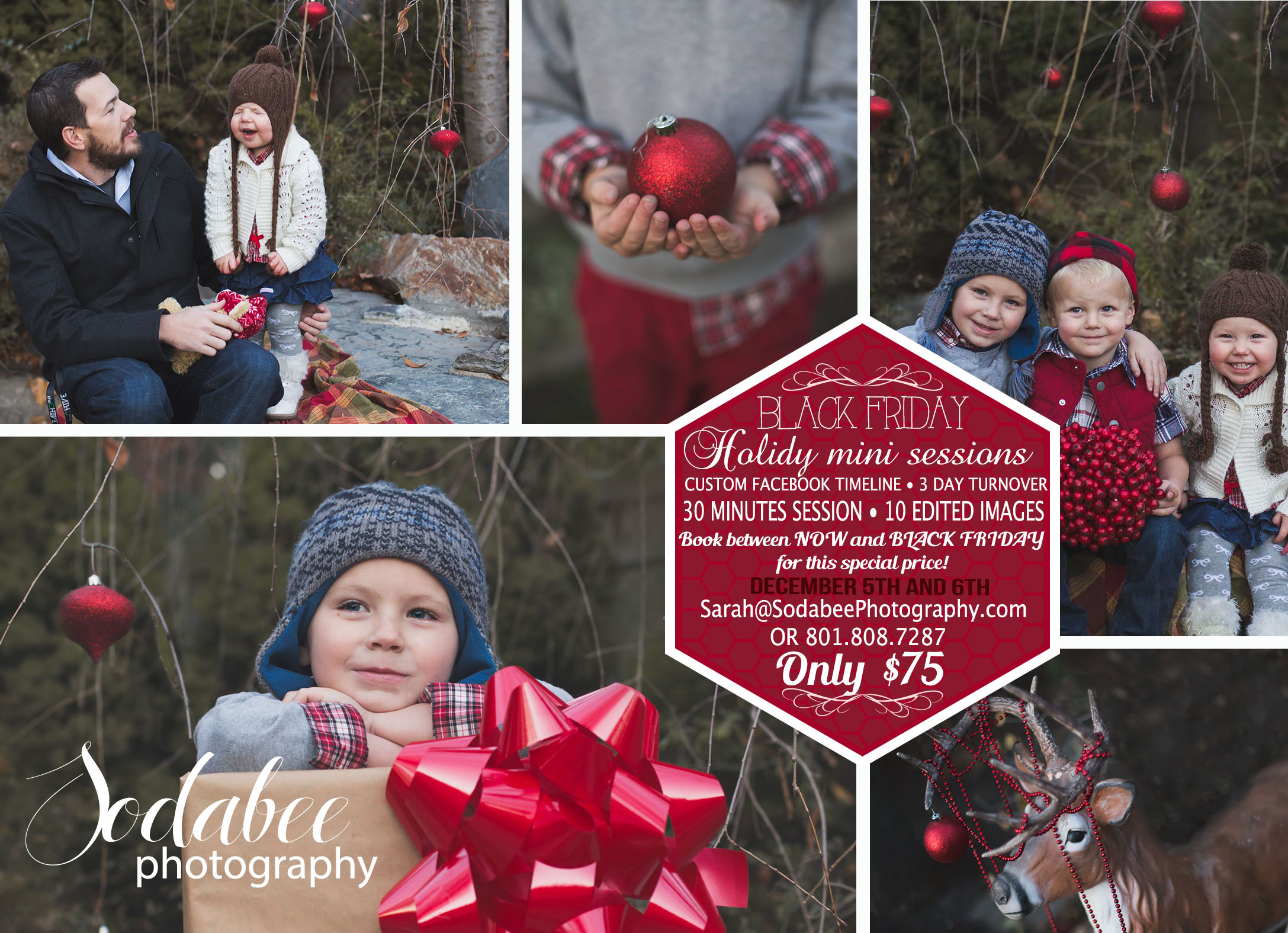 Christmas Mini Sessions.Christmas Mini Session Giveaway Utah Sodabee